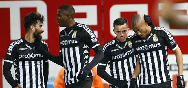 Foto: Charleroi dient tienkoppig Westerlo eerste nederlaag toe in Play-Off II