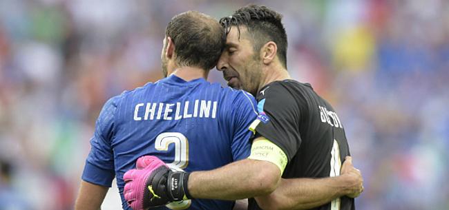 Foto: Juve legt iconen Buffon (42) en Chiellini (35) jaartje langer vast
