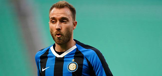Foto: 'Eriksen dreigt Inter na half jaar weer te verlaten'