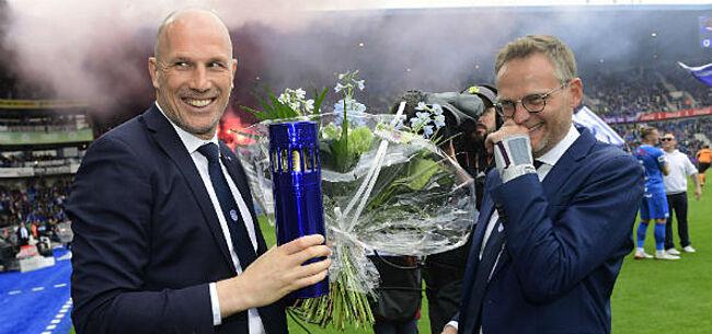"""Foto: Genk neemt afscheid van Clement: """"Veel succes Philippe"""""""