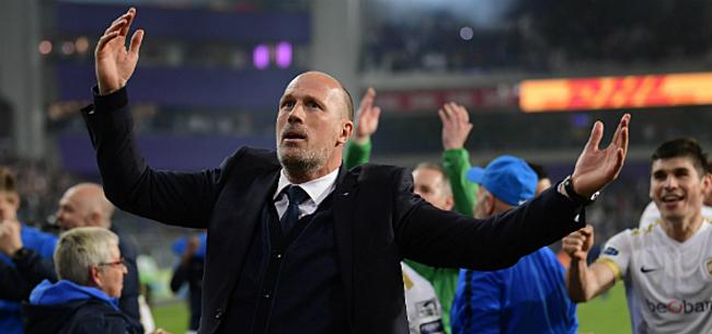 Foto: Clement reageert op mogelijke verhuis naar Club Brugge