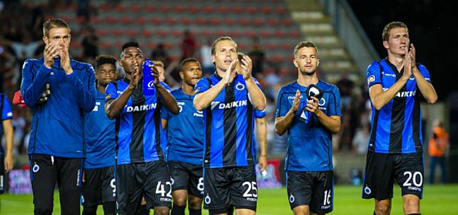 Foto: Club Brugge recupereert twee spelers tegen KV Kortrijk