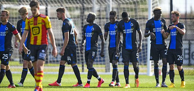 Foto: Sterk Club geeft KV Mechelen pak voor de broek