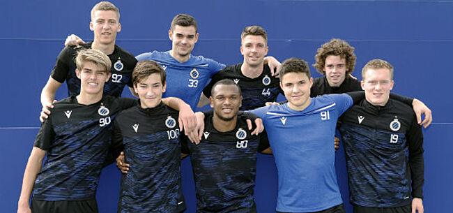 Foto: Beloften Club Brugge treden toe tot 1B