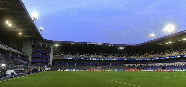 Foto: Anderlecht ziet grote naam dan toch niet terugkeren