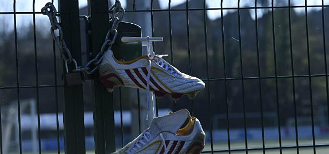 Foto: Coronacrisis: 'Grote kans dat Belgisch voetbal maandenlang stilligt'