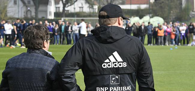 Foto: Hoogspanning bij Anderlecht: