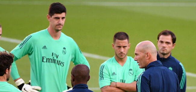 Foto: Courtois over kritiek op Hazard: