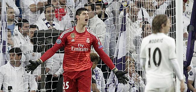 Foto: 'Zidane hakt knoop door: Courtois moet beschikken bij Real'