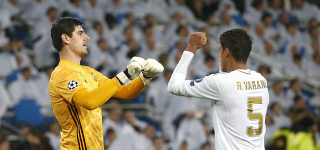 Foto: Clean-sheet Courtois helpt Real Madrid aan voorlopige leidersplaats