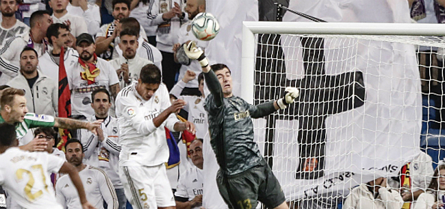 Foto: Courtois verklapt rol van Zidane tijdens moeilijke periode