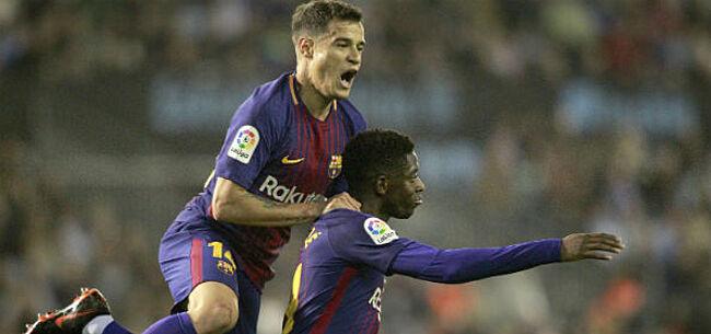 Foto: 'Dure Barcelona-winger weigert plaats te ruimen voor Neymar'