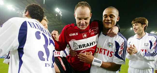 Foto: Anderlecht-icoon duidelijk:
