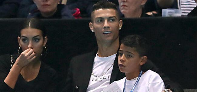 Foto: Nu al gewild op transfermarkt: Cristiano Junior (8) gaat papa Ronaldo achterna