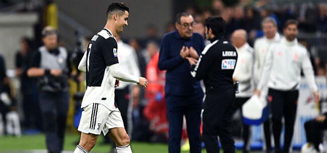 Foto: Sarri brengt slecht nieuws over Ronaldo: