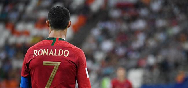 Foto: Ronaldo blijft net als Messi weg bij zijn nationale ploeg