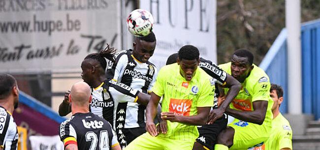 Foto: Charleroi vecht zich in slotfase naar duur bevochten puntendeling tegen AA Gent