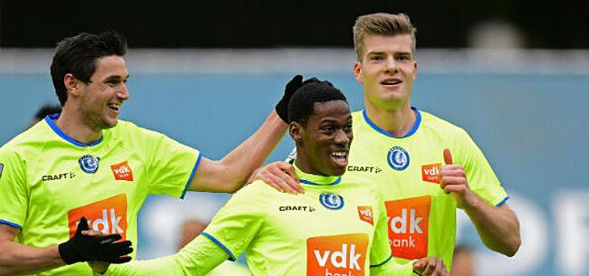 Foto: AA Gent onder zware druk: