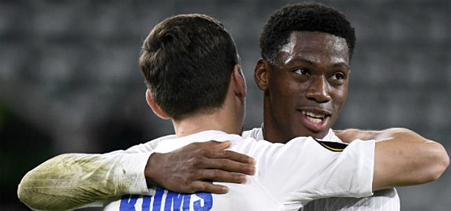 Foto: 'Gent hield David uit klauwen van Europese topclub'