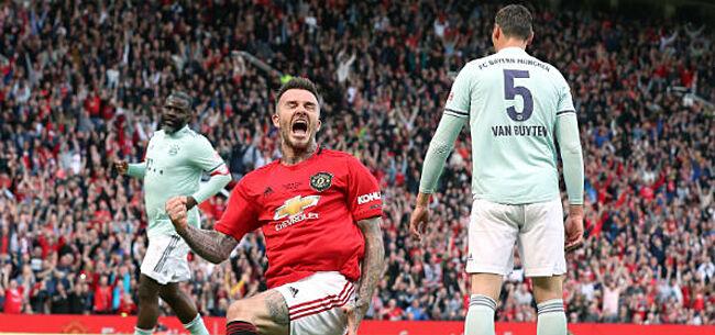 Foto: Fans van Manchester United schreeuwen om terugkeer van ex-vedette