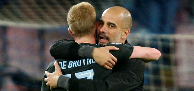 Foto: 'Guardiola werkt aan erg straf plan met De Bruyne'