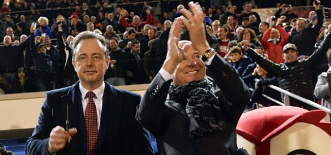 Foto: De Wever in de wolken dankzij Antwerp en Beerschot