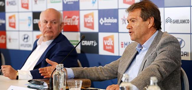 Foto: De Witte slaat mea culpa, De Decker nieuwe trainer AA Gent