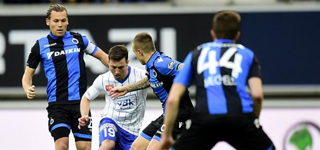 Foto: 'Club Brugge gaat concurrentie met Man Utd aan, AA Gent scout spits'