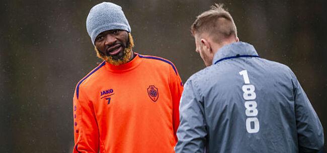 Foto: Lesje niet geleerd: Lamkel Zé maakt het wéér te bont op training