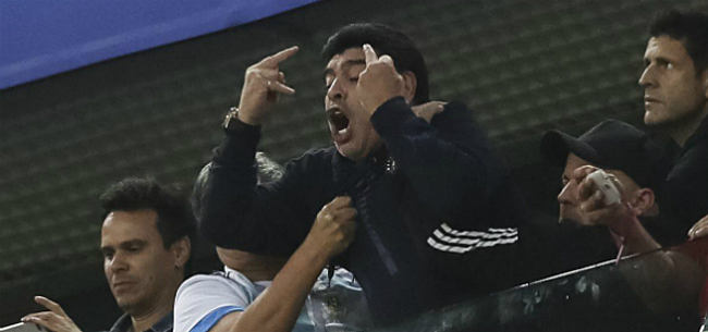 Foto: Maradona haalt alweer snoeihard uit naar Messi en co