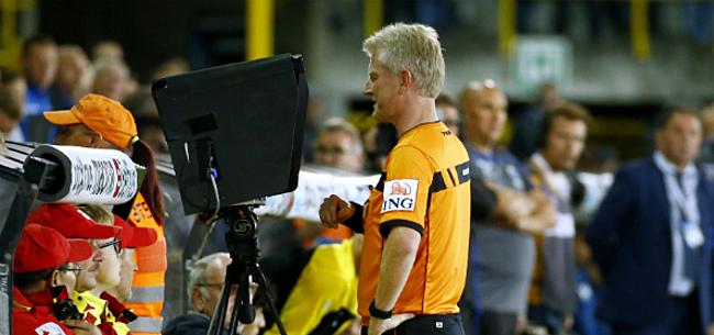 Foto: Pro League schroeft VAR-regel nu al terug