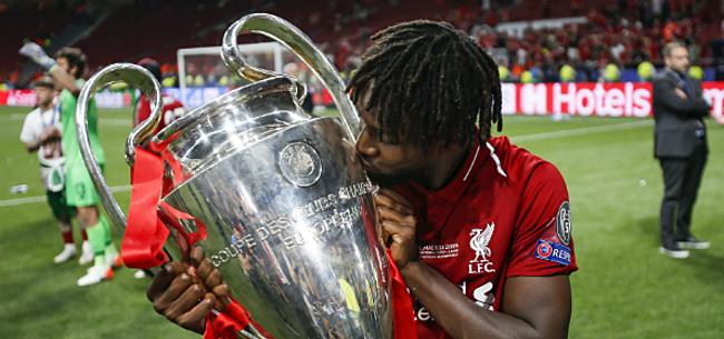Foto: 'Origi herneemt trainingen bij Liverpool met goed nieuws'