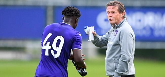 Foto: Anderlecht maakt resterend oefenprogramma bekend
