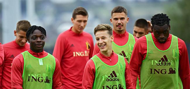 Foto: Anthuenis pleit voor debutant bij Rode Duivels tegen Denemarken
