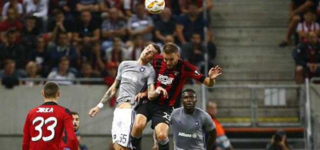 Foto: Inspiratieloos Anderlecht in Europa: