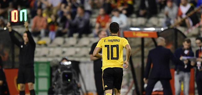 Foto: Eden Hazard geeft zijn opvallende WK-pronostiek prijs