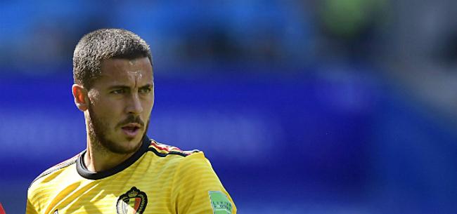 Foto: 'La Liga verplicht Hazard van rugnummer te veranderen'