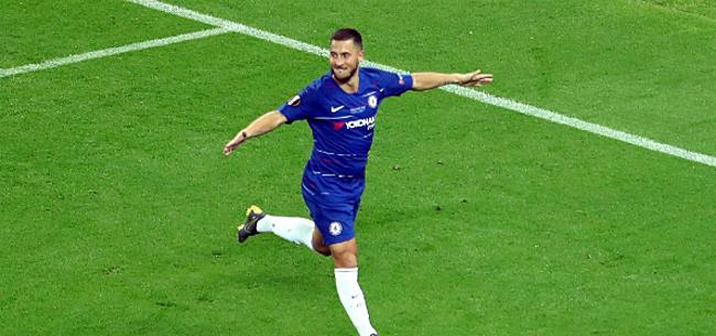Foto: Hazard heeft wens voor volgend seizoen: