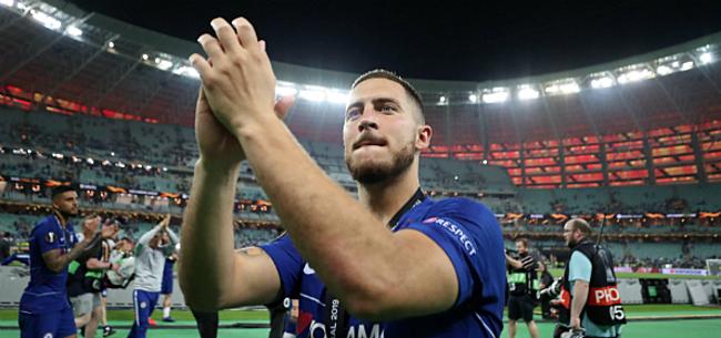 Foto: 'Hazard kan monsterloon verdienen in Madrid: