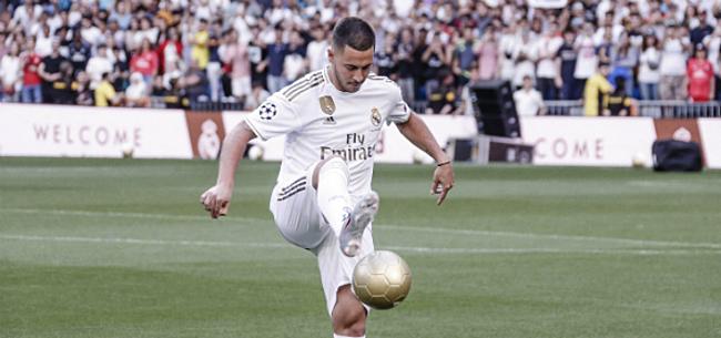 Foto: 'Real bewijst Hazard een dienst met volgende transfer'