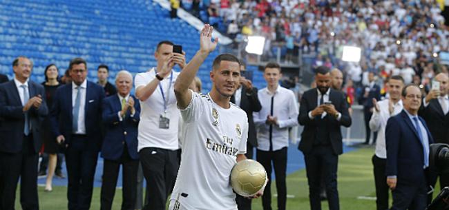 Foto: 'Hazard vraagt zélf om verrassend rugnummer bij Real'