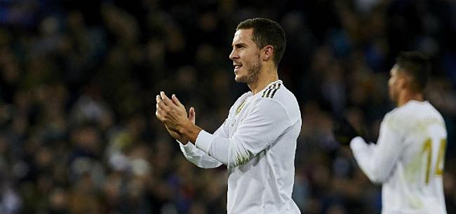 Foto: Hazard lijkt zijn volgende club al aan te kondigen