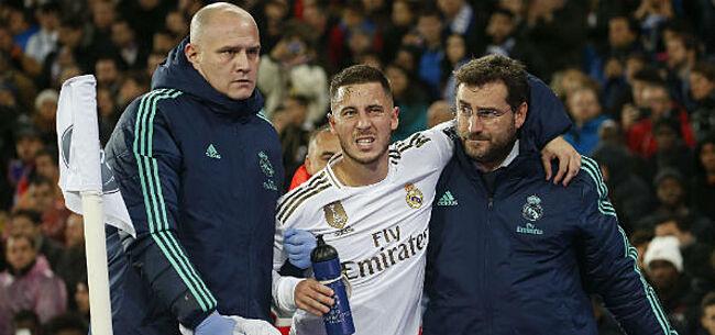 Foto: Real Madrid komt met slecht nieuws over Eden Hazard