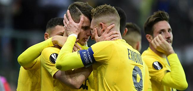 Foto: Lestienne bezorgt Sclessin delirium tegen Eintracht Frankfurt