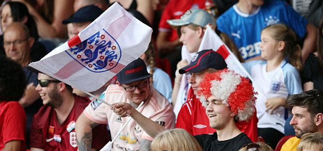 Foto: Engelse voetbalbond roept fans op tot goed gedrag:
