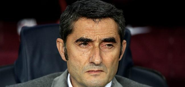 Foto: Valverde laat zich uit over geruchten over ontslag bij FC Barcelona