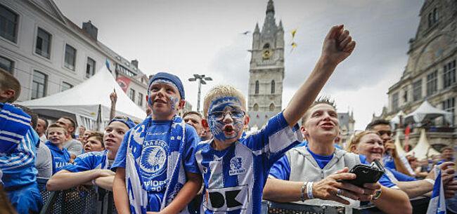 Foto: Spelers van AA Gent brengen bezoekje aan Gentse Feesten