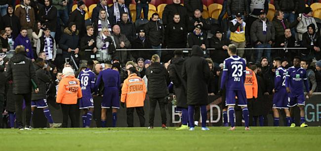Foto: 'Situatie dreigt te escaleren: bestuur Anderlecht onderneemt actie'