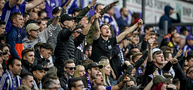 Foto: 'Fans bezorgen Anderlecht nog meer problemen, boete op komst'