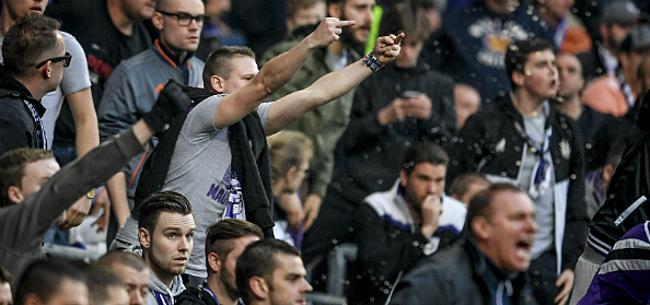 Foto: Anderlecht krijgt boete voor